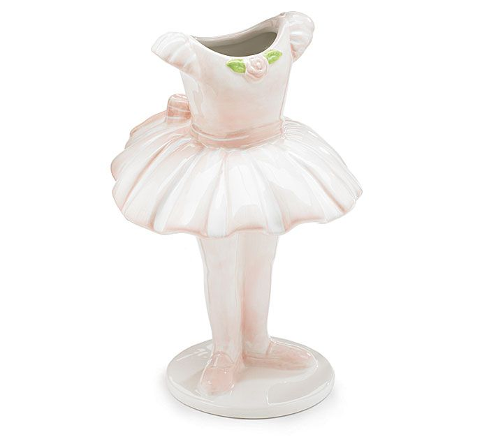 Tu-tu Ballerina Vase #burtonandburton #ballet
