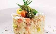 Recept risotto met groene asperges en gerookte zalm