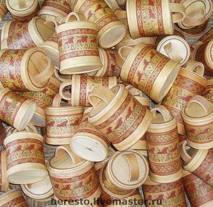 Туес с мезенской росписью - народные промыслы,народная традиция,ручная роспись