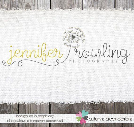 Custom Premade Photography Logo  Swirls and by autumnscreek, $40.00