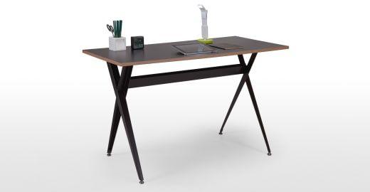 Graphix Schreibtisch, Schwarz ► Neues Design für dein Zuhause! Entdecke jetzt Tische von klein bis groß bei MADE.