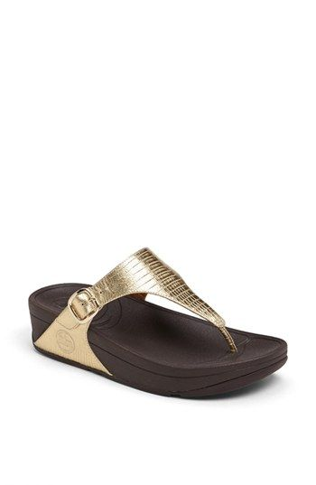 FitFlop 'The Skinny' Sandal available at #Nordstrom
