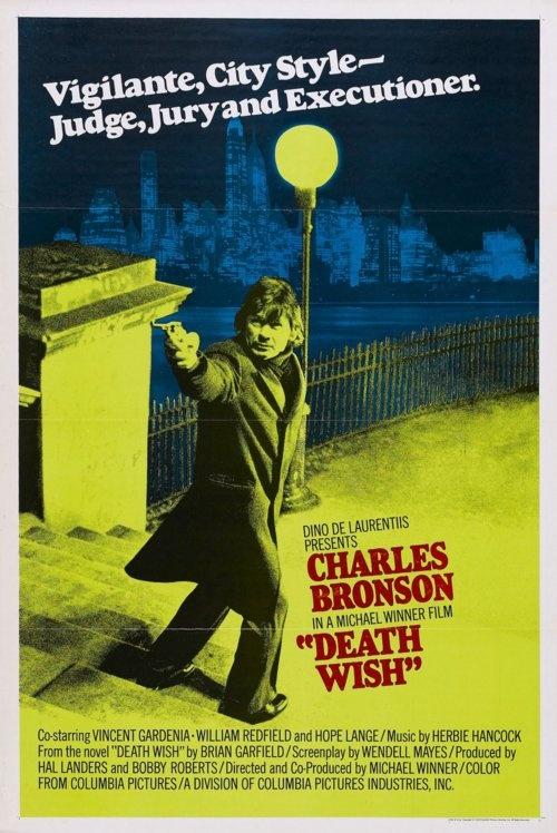 Death Wish. One sheet poster.Movie Posters, Deathwish Charlesbronson, 1970S Movie, Charles Bronson, Film Posters, 1974 Death, Michael Winner, Favorite Movie, Movie Art