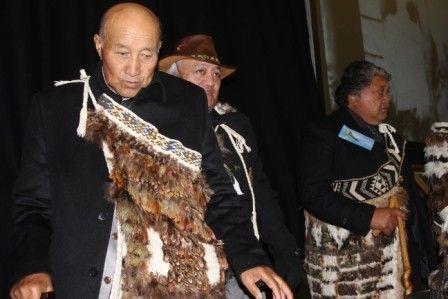 Tiwi Black - DOS 2013 Te Whanganui a Tara with Rutene Hohua (Ngati Koura) Te Ihi Tihi (Ngati Rongo)