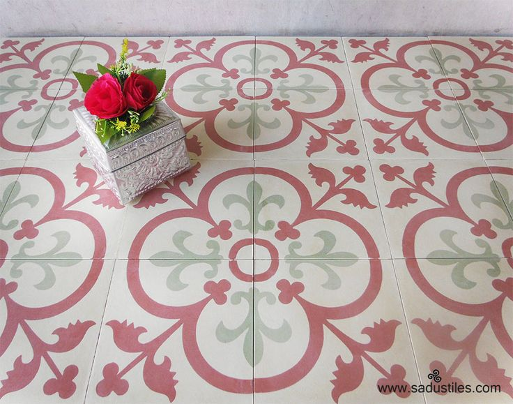 Sadus Tiles handmade cement tiles from Bali - Insdonesia