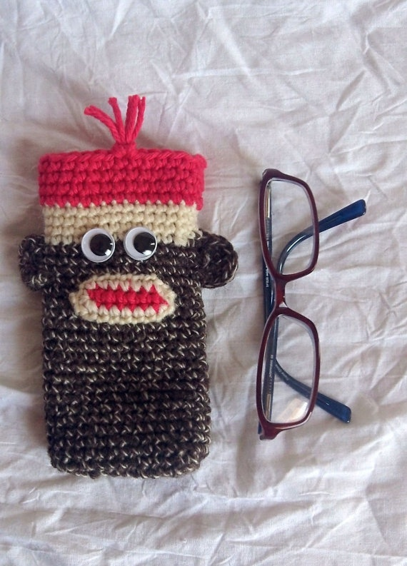 Free Crochet Pattern Eyeglass Case : 17 Best images about Eye glass cases crochet and plastic ...