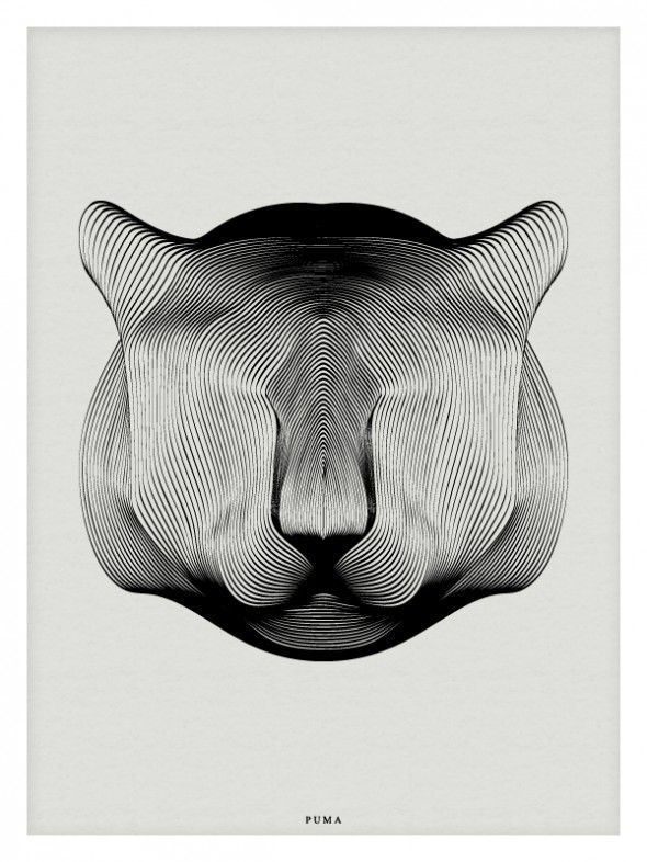 Animals in Moiré / Andrea Minini | AA13 – blog – Inspiration – Design –…