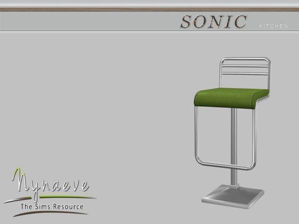 NynaeveDesign's Sonic Bar Stool