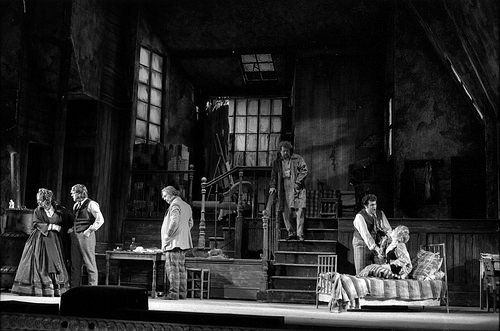 ROH Collections Item of the Month: Donald Southern's starry photographs of La bohème — News — Royal Opera House