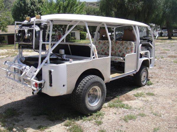 1972 VW Baja Safari Bus with Ford 2.3 and nicely done cooling