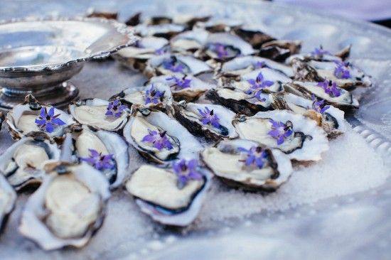 Artful Catering / Oysters / Wedding Style Inspiration / LANE (instagram: the_lane)
