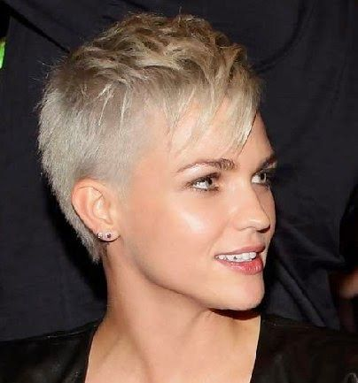 25 Best Ideas about Women s Shaved Hairstyles on