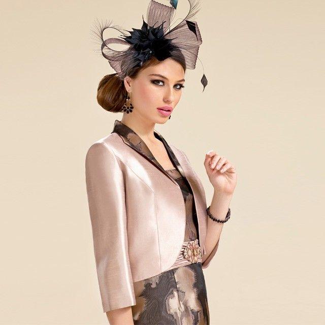 Zeila Abstract Print Dress and Bolero