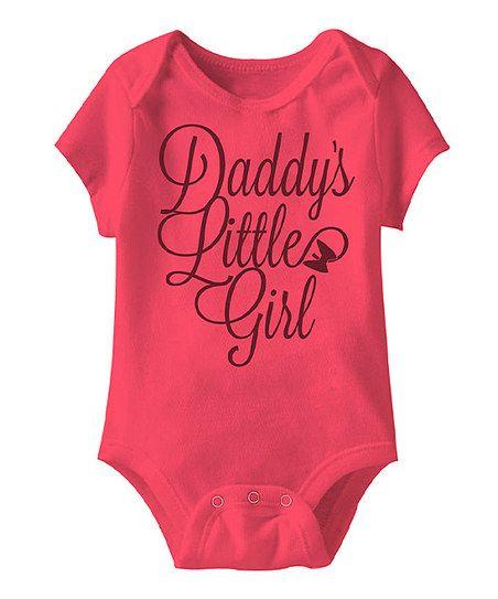 Hot Pink 'Daddy's Little Girl' Bodysuit - Infant