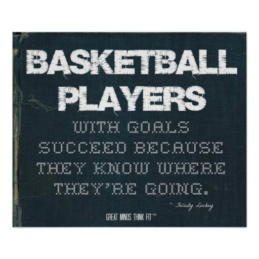 Motivational Quotes For Basketball Players: 17 Best Images About Basketball Posters On Pinterest
