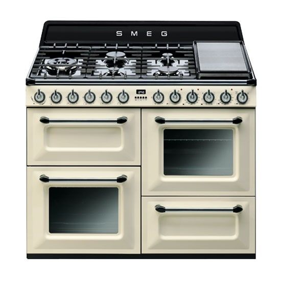 TR4110 Victoria range cooker from Smeg | Range cookers | PHOTO GALLERY | Beautiful Kitchens | Housetohome.co.uk