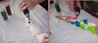 6 Easy Steps to Tie-Dying, Well...Anything: Dye Application: How to Apply Tie Dye