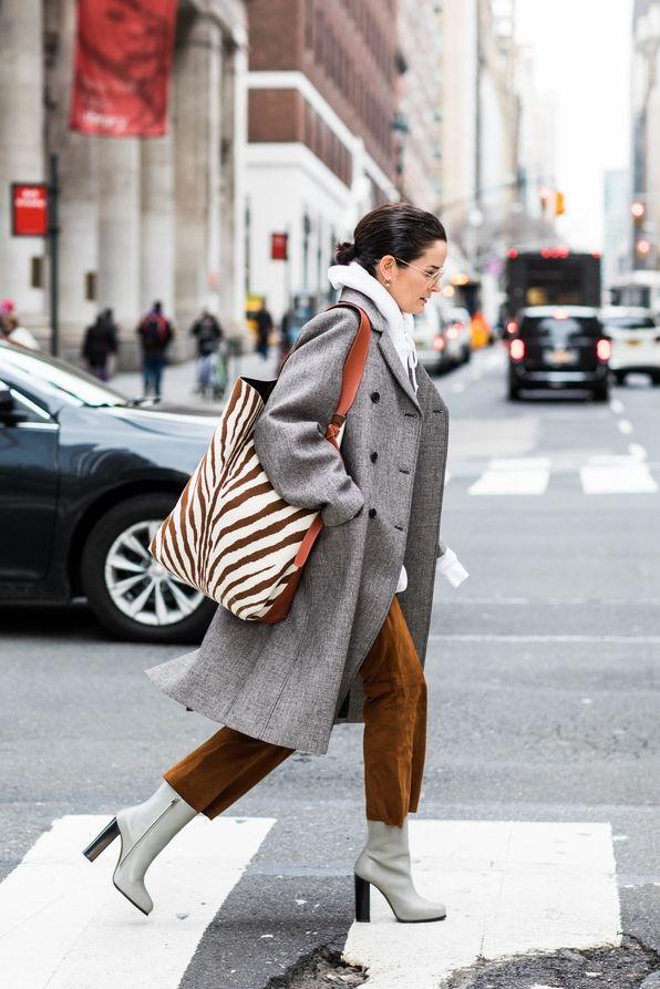 Street style à la Fashion Week automne,hiver 2018,2019 de New York