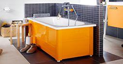 Badekar med frontstativ - Funksjon og kvalitet - Gustavsberg