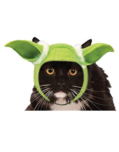 Rubies Costume Company Star Wars Classic Yoda Cat Headpiece >>> Click image to read more details. #CatApparel