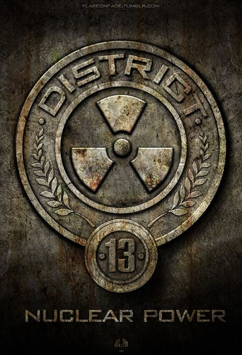 During the book, we discover that District 13 really does exist.