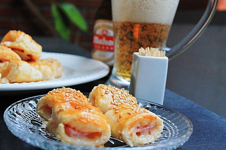 Las recetas de María : Saladitos de jamón y queso