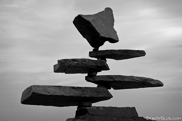 To give some decoration to the world, I wanted to have some unusual rock formations scattered around the world, whether this be rocks floating/ orbiting around each other to these almost impossible looking balanced structures. I chose this photo as it was one of the more extreme versions of the balancing effect i could find.