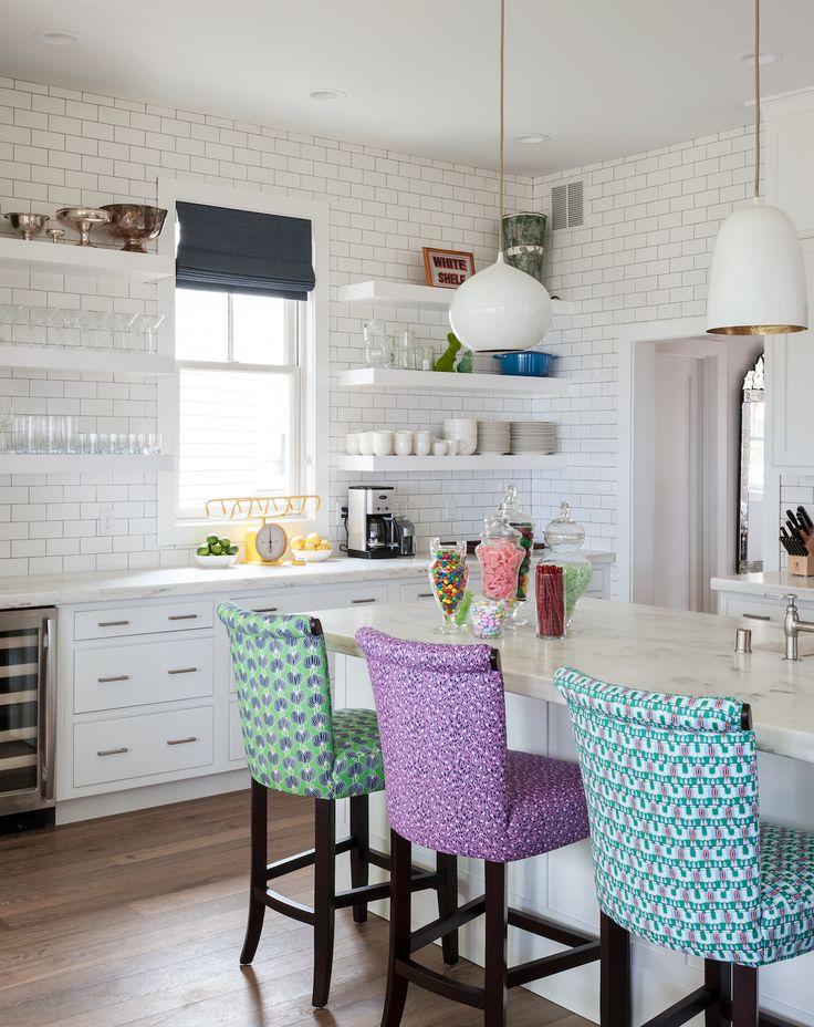 M s de 25 ideas incre bles sobre cocina brillo gris en - Sillas para barras de cocina ...