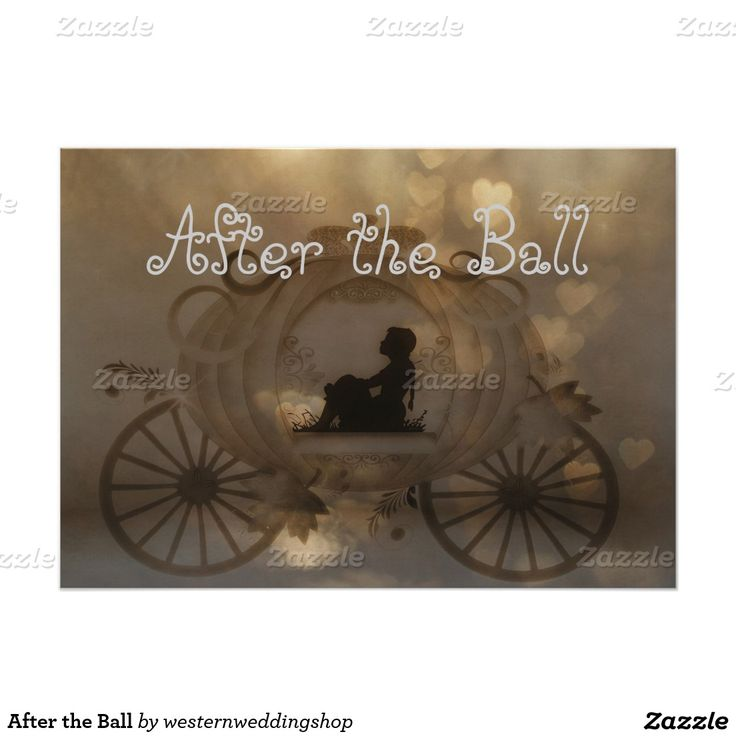 After the Ball 5x7 Paper Invitation Card