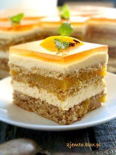 """Ciasto """"Brzoskwiniowy sad"""""""
