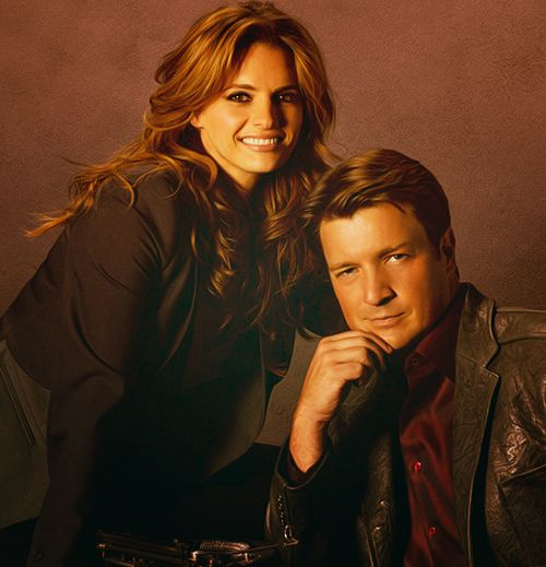 Castle & Beckett - Nathan Fillion and Stana Katic  ❤