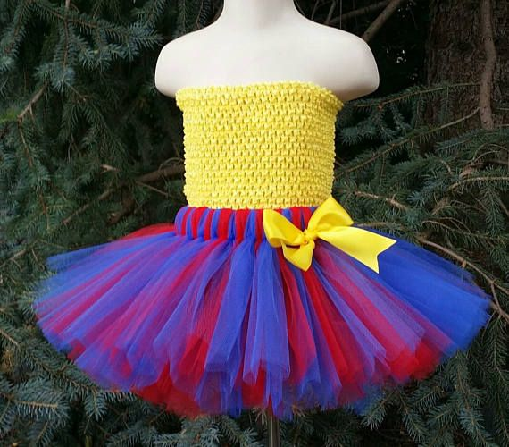 Pick Your Colors Superman Tutu Skirt TUTU SKIRT ONLY Mommy