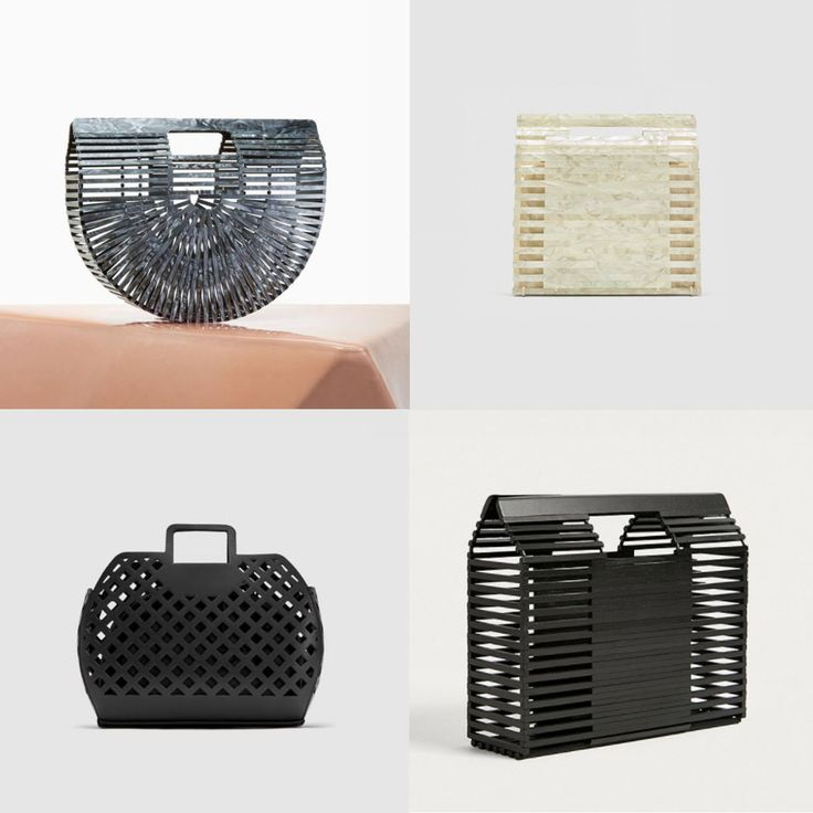 Acrylic Cage Handbags - obsessed! check out my top picks...