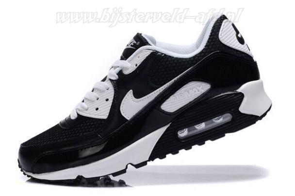 Voorzien Nike Air Max 90 Schoenen (Dames) Zwarte Wit EG825493