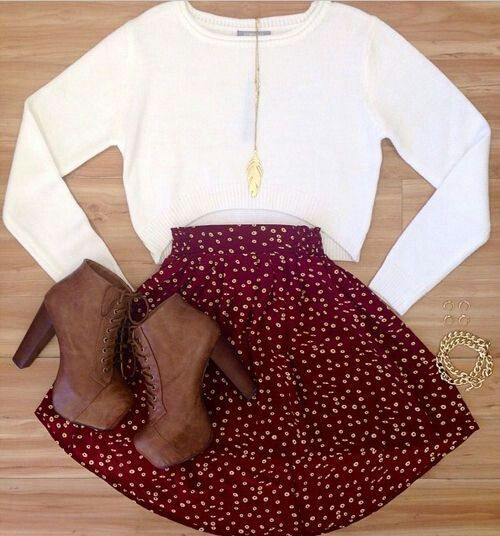 Skater skirts and crop tops | Clothes | Pinterest | Skirts Crop tops and The ou0026#39;jays