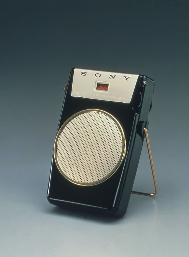 Anonymous; #TR-610 Portable Radio by Sony, 1958.
