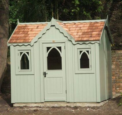 Gothic bespoke shed