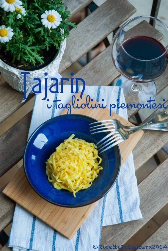 Ricette di Cultura: Il tartufo bianco d'Alba e i Tajarin Piemontesi per Ville in Italia - Piedmont noodles