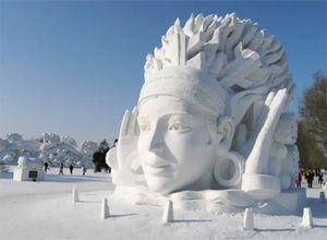 Nos hivers laissent libre expression à nos artistes! ©Aventurenouvellefrance