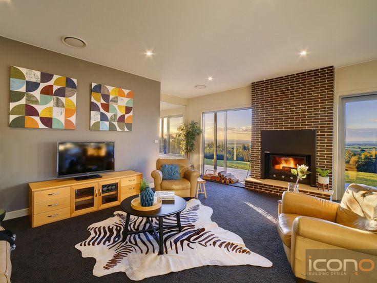#familyroom #fireplace #interiordesign #modern #iconobuildingdesign