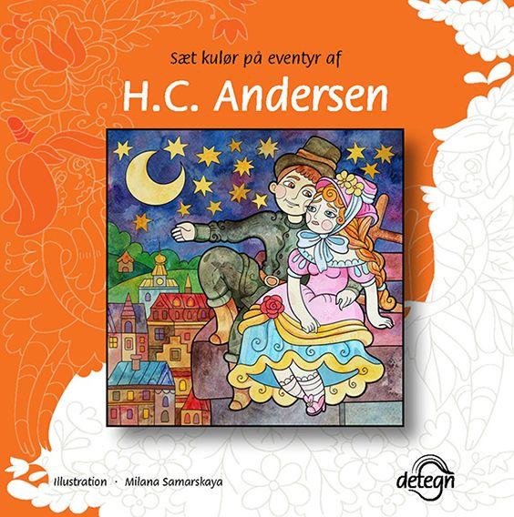 Sæt kulør på eventyr af H.C. Andersen, Milana Samarskaya, drawing, colouring book
