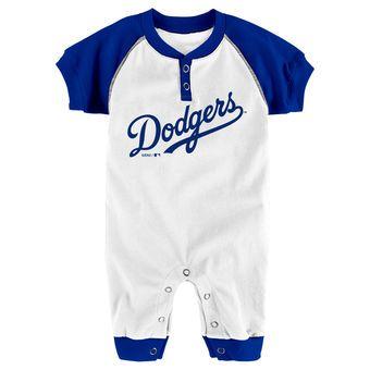 8eb355100bb Los Angeles Dodgers Newborn & Infant Game Time Jumper – White/Royal |  Dodgers⚾ | Pinterest | Dodgers