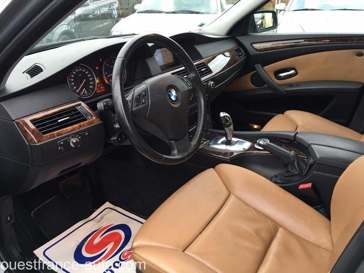 Voiture occasion BMW Serie 5 530d Luxe A, 13700 euros, 180125 km, année 2007, SAINT-PERE (Ille-et-Vilaine 35), annonce professionnel, Berline, 235CH, 14CV, 4 Portes, 5 Places, Diesel, Boite de vitesse automatique, GPS, ABS, Antibrouillards, Phares au...