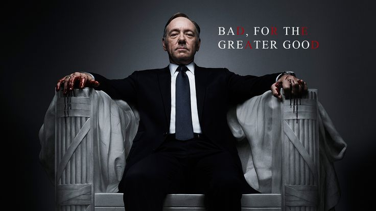 Kevin Spacey is also a bloody king. #HouseOfCards