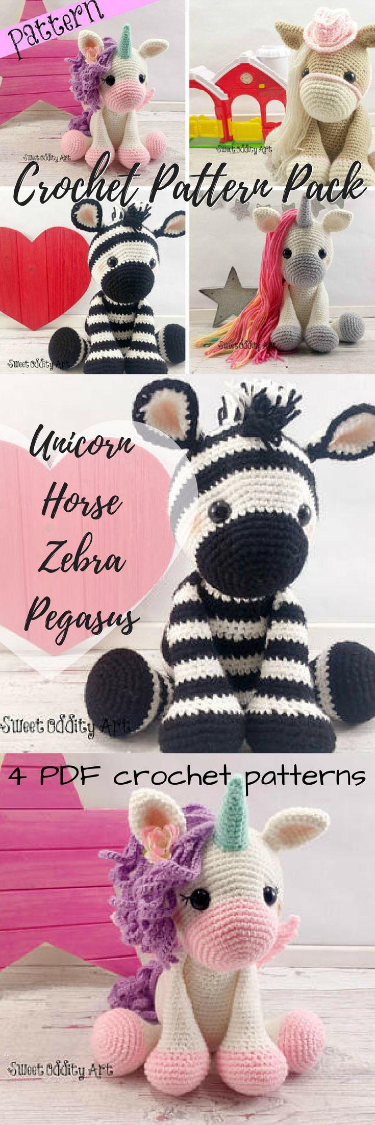 41 best Zebra Crochet Patterns images on Pinterest | Amigurumi ...