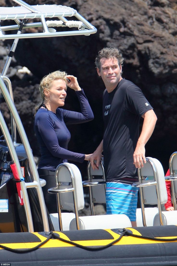 Getaway: Megyn Kelly and her husband Douglas Brunt were photographed on Sunday while vacat...