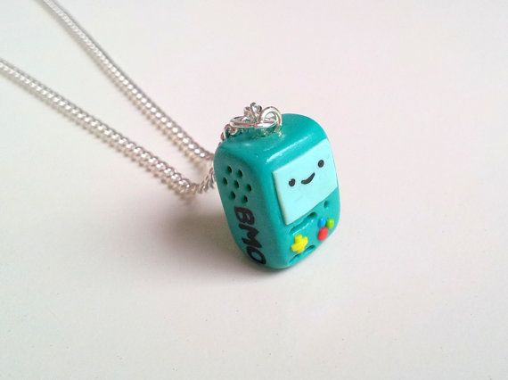 BMO 'Beemo' Adventure Time necklace $18.91