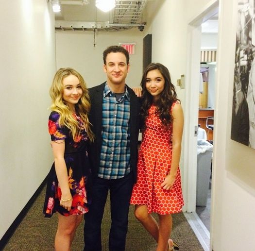 "Good Morning America Girl With Acne : Girl meets world cast on abc s ""good"
