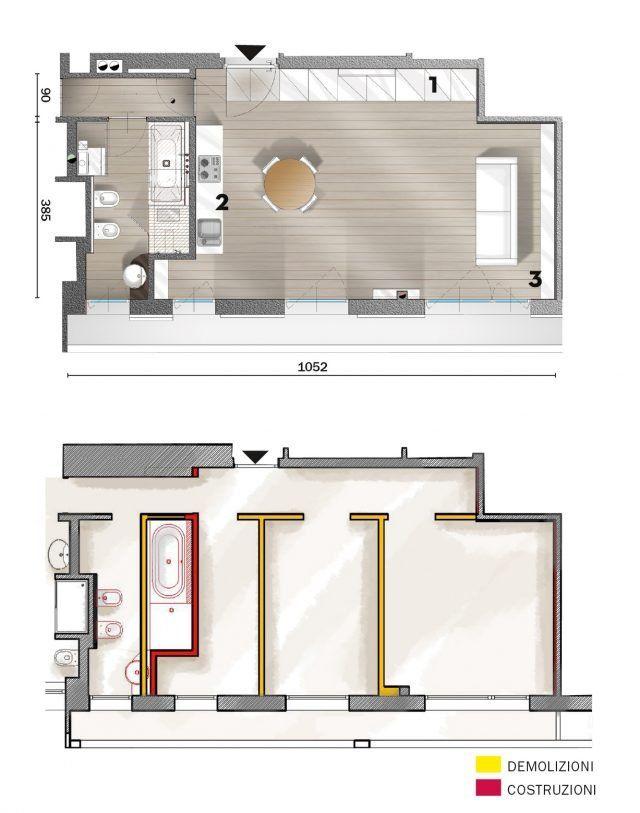 50 Mq Una Casa Open Space Per Avere Piu Luce Guarda I Costi