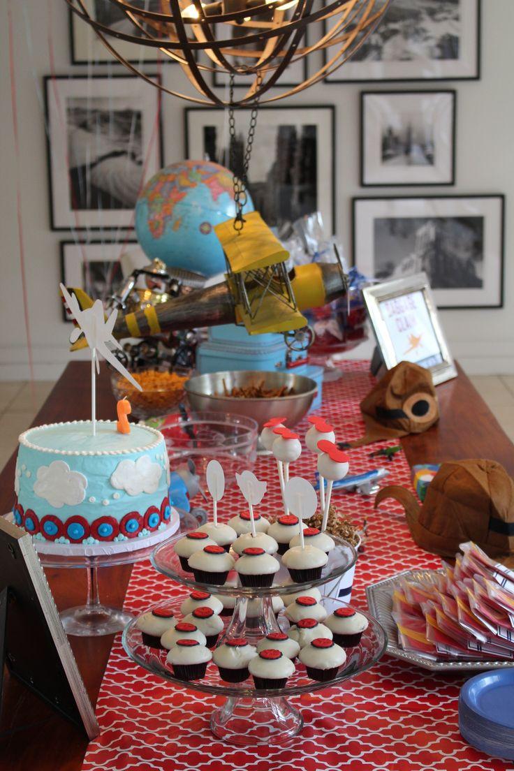 17 best Planes Birthday Party Ideas Airplane Birthday Party Ideas